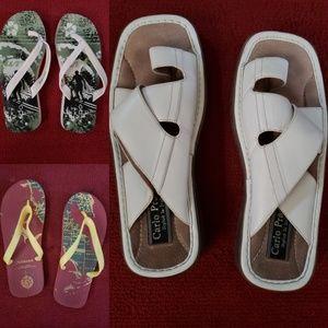 Aldo men's Sandal w/ 2 bonus flip flops